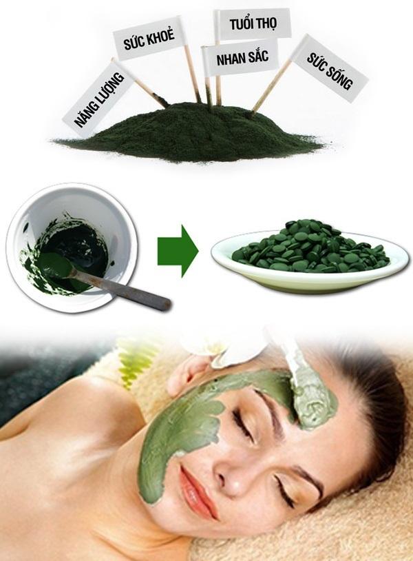 Tác dụng trị nám của tảo Spirulina